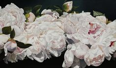Peonies Painting - Celebration by Thomas Darnell