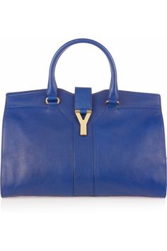 YVES SAINT LAURENT  Cabas Chyc leather tote