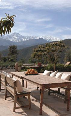 Kasbah Bab Ourika Atlas Mountains #Morocco