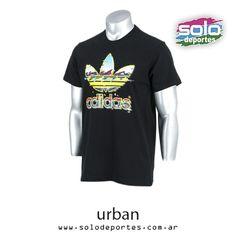 Remera Hawaii Trefoil Negro/Multicolor  Marca: Adidas 10002EF46975001   $ 279,00 (U$S 42,27)