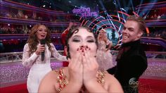 The First Perfect Score of the Night!! #DWTS
