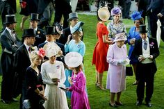 Spot the Royals! How many royals can you spot in this picture?