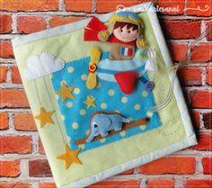 Quiet Book Slim  The Little Prince  Le Petit by walartesanal