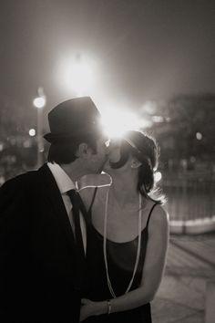 Photographe Paris // Vintage Pre Wedding Shoot in Montmartre, Paris with Joyeuse Photography