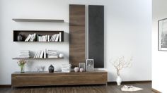 Just a model of furniture covering long wall..