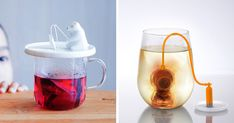 20+ of the Most Creative Tea Infusers for Tea Lovers - What's the fun in using a plain old boring tea infuser? If you're a fan of tea, you'll love these creative tea infusers! Most people use tea bags if they want to drink some tea on the run, but if you really want to enjoy the good stuff, then it's loose leaf or nothing.