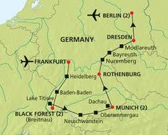 Map Of Black Forest Germany France Map - Germany map black forest