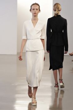 Calvin Klein Collection Resort 2012 Fashion Show - Kasia Wrobel