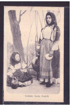 Cartolina Costume Sardo Orotelli VB139 | eBay