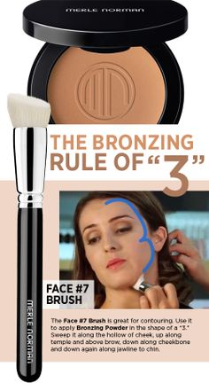 The Bronzing Rule of 3 #beautytip #bronzer