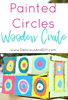 DIY Painted Circles