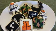 deer cookie | Custom cookies for a guy who loves deer hunting, inspired by a picture ...