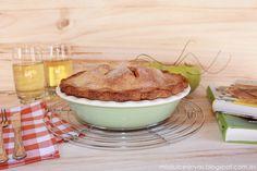 "Mis Dulces Joyas: American Apple Pie (Pastel de Manzana Americano) - Reto ""Food Bloggers Trotamundos"""