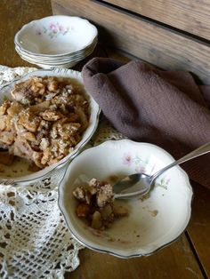 Apple Crisp Table Blog
