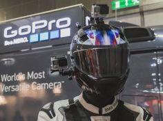 GoPro Hero-4 Motorcycle Helmet