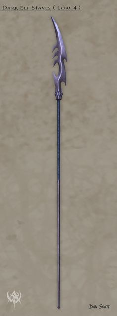 Dark Elf Staves ( Low 4 )