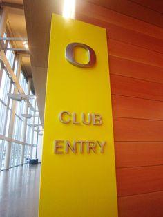 University of Oregon Signage & Wayfinding by Pamela Steiner, via Behance