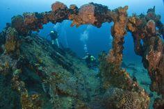 Matera Wreck, Cuba, Santa Lucia by Sergiy Glushchenko on 500px