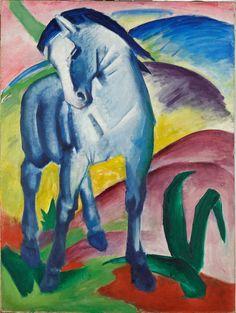 Marc, Franz - Blue Horse I - Google Art Project