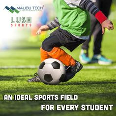 Creating a safe and all weather play field for schools. Lush Sports lays an Ideal play field for students who enjoy sports throughout the year and during all seasons. #artificialturf #malibutech #sports #sportsturf #football #syntheticturf