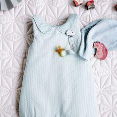 Sleeping Bag Sashiko Mint