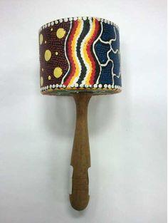 Instrument-Cylinder Maraca Painted