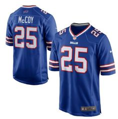 Men's Buffalo Bills #25 LeSean McCoy Royal Blue Nike NFL Home Game Jersey