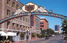 Gaslamp Quarter of Downtown San Diego