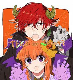 Halloween Anime Couple Gekkan Shoujo Nozaki-kun cute
