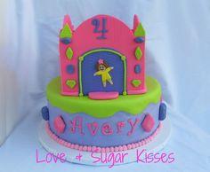 bounce+house+cakes | Love & Sugar Kisses: Bounce House Castle Cake