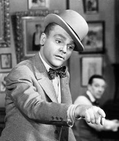 """""""Absorption in things other than self is the secret of a happy life."""" - James Cagney"""