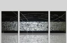 Mejores 66 Imagenes De Cuadros Modernos Abstractos Pintados A Mano - Cuadros-modernos-con-relieve