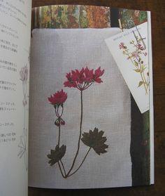 """Botanical Embroidery Book"" by Hiroko Aono-Billson"