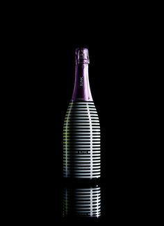 Blink sparkling wine designed by beetroot