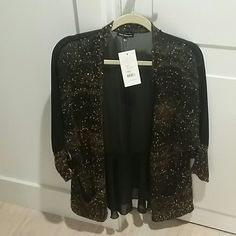 "Selling this ""Nice jacket for o black top to go to dinner"" in my Poshmark closet! My username is: atabacaru. #shopmycloset #poshmark #fashion #shopping #style #forsale #royal underground #Jackets & Blazers"