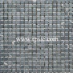 Nero Marqulia Mosaic 5/8x5/8 Tumbled MST-26