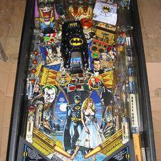"On instagram by apinballaday #retrogaming #microhobbit (o) http://ift.tt/1SxGBlN 1991 Data East. Being a comic book fan this one always got my quarters first in a crowd. ""Never rub another man's rhubarb!"" #pinball #pinballlife #90s #1990s #dataeast #batman #dccomics #joker #comics #superhero #art #arcade #games #retro #gaming  #oldschool #flipper #playfield"