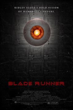 Blade Runner (1982) - Harrison Ford, Rutger Hauer, Daryl Hannah, Sean Young, Directed by Ridley Scott