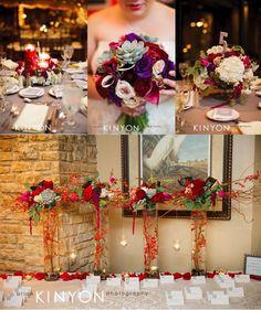 Rich Colorful and Textured Wedding Flowers   Riverside Receptions Wedding   Geneva Wedding Florist