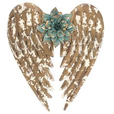 Mission Gallery Beautifully Distressed Gold Metal Angel Wings with Flower in Center Wall Home Decor ~ *** Visit the image link more details. (This is an affiliate link) Canvas Wall Decor, Metal Wall Decor, Diy Wall Art, Metal Wall Art, Hobby Lobby Decor, Angel Wings Wall Decor, Wood Angel Wings, Hobby Shops Near Me, Hobby Lobby Christmas