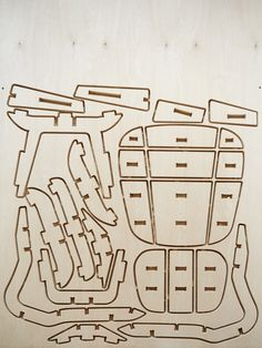 Popular Mechanics — Building an Eames chair from a single sheet of wood : Reed Young Woodworking Outdoor Furniture, Plywood Furniture, Furniture Plans, Cnc, Woodworking Classes, Woodworking Projects, Tool Tattoo, Decoupage, Popular Mechanics