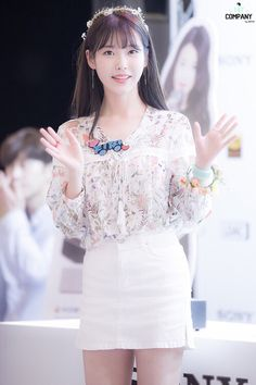 IU at Sony Fansign cr.as tagged Iu Fashion, Asian Fashion, Korean Girl, Asian Girl, White Lace, White Dress, Snsd, Gangnam Style, Just Girl Things
