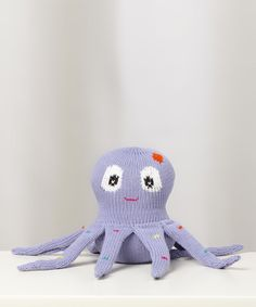 Look at this Loralin Design Lavender Octopus Plush Toy on #zulily today!