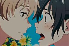 anime: umibe no étranger #mio #shun #thestrangerbythebeach My Little Pony Videos, Otaku Anime, Anime Guys, Dream Anime, Cute Anime Coupes, Mundo Comic, Anime Wallpaper Live, Anime Music, Anime Films
