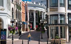 Rodeo Drive, Beverly Hills in Los Angeles, CA