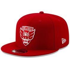 d200beb785150 Men s D.C. United New Era Red Fresh Hook 9FIFTY Snapback Adjustable Hat