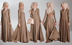 Abaya & Hijab New Latest Collection 2014-14 For Women  (12)
