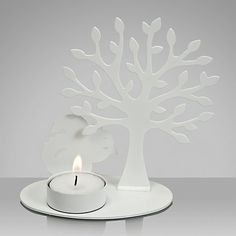 Buy House by John Lewis Squirrel Tealight Holder from our Candle Holders range at John Lewis & Partners. Buy House, Christmas Crackers, Oak Tree, Metallic Paint, Tea Light Holder, White Paints, Home Buying, John Lewis, Squirrel