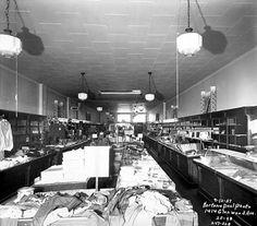 Interior of Ben Franklin Store, 1414 Glenwood Avenue, Minneapolis