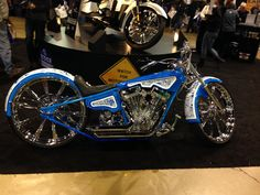 Allstate bike at the Chicago convention